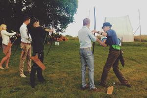 Приключения на трассе для стрельбы из лука на хуторе Рюютли