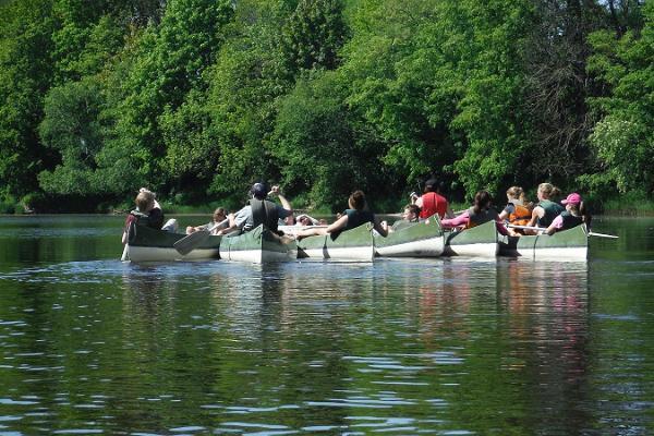 Поход на каноэ по реке Кейла от Kanuu.ee