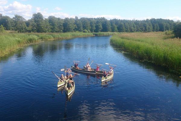 Kanuu.ee canoe trip on River Keila