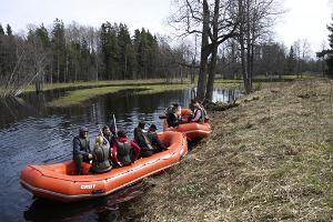Kanuu.ee Kanutour oder Rafting auf dem Fluss Jägala + Zil Safari