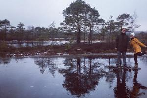 Kanuu.ee skogsläger för sällskap