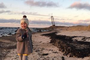 Matkustajalaiva Estonian onnettomuudessa kuolleiden muistomerkki Tahkunassa