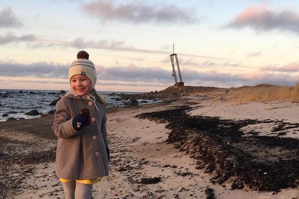 """Denkmal für die Verunglückten des Fährschiffs """"Estonia"""" in Tahkuna"""