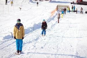 Tallinas Dziesmusvētku estrādes Ziemas centrs - snovtūbings un ragavu kalniņš