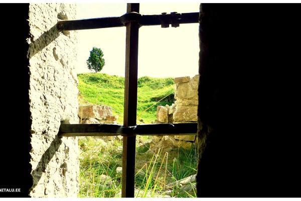 Die Ruinen der Ordensburg Maasi