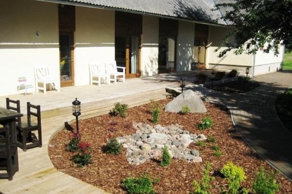 Algallika külalistemaja Matsalu rahvuspargis mere ääres