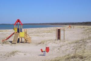 Luidja beach and camping area