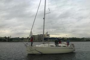 Segling till Runö med segelbåten Põhjatäht