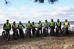 Fatbike cykeltur till Türisalu klippan