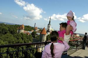 Familientour in Tallinn zu Fuß und Marzipan-Workshop