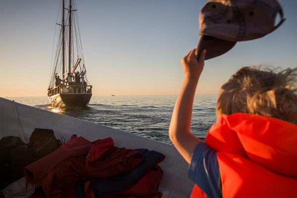 "Seefahrten auf dem Segelschiff ""Lisette"" um die Insel Hiiumaa"