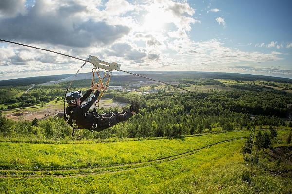 Adventure holiday in East Estonia