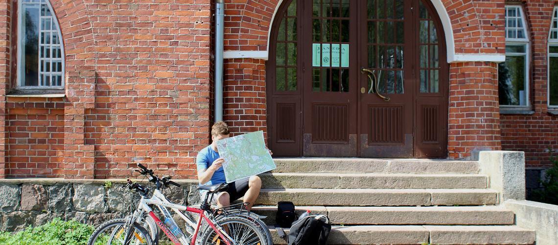 Cykelvandring i Estland