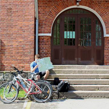 Bikepacking in Estonia