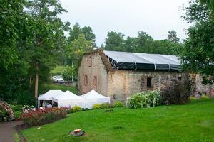 Veranstaltungsräume der Wassermühle Oandu