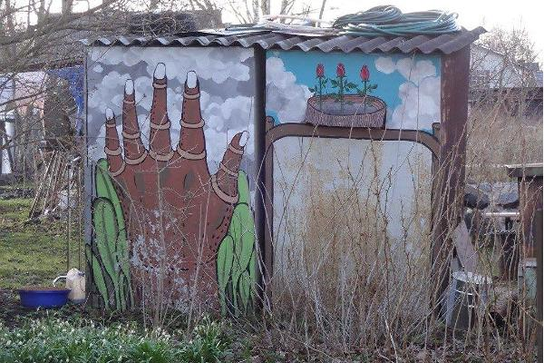 Supilinn – a district of wooden buildings with a wonderful milieu and street art