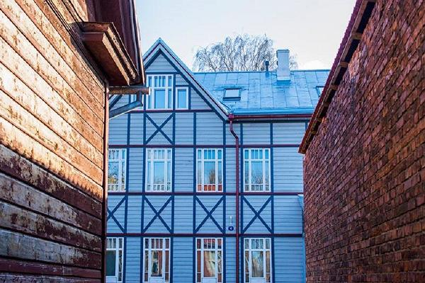 Supilinn – a district of wooden buildings with a wonderful milieu