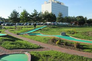 Minigolf centre at Toila SPA Hotel