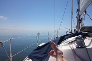 Seikle Vabaks purjetamine Kihnu saarele
