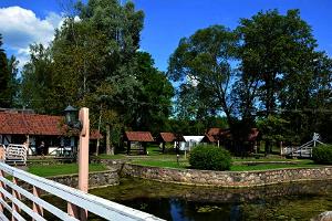 Forellenfang bei der Mühle Kalme