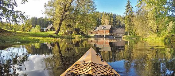 Kayaking in Estonia. Visit Estonia