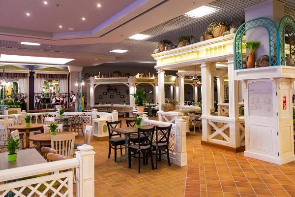 Lido restaurang i Ülemiste centrum
