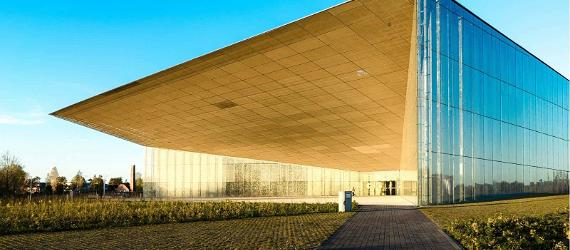 Get a glimpse of the new Estonian National Museum