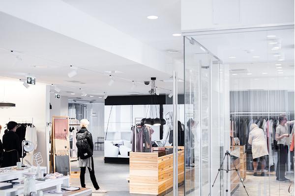 Tallinn Design House - presentationsrummet för estnisk design