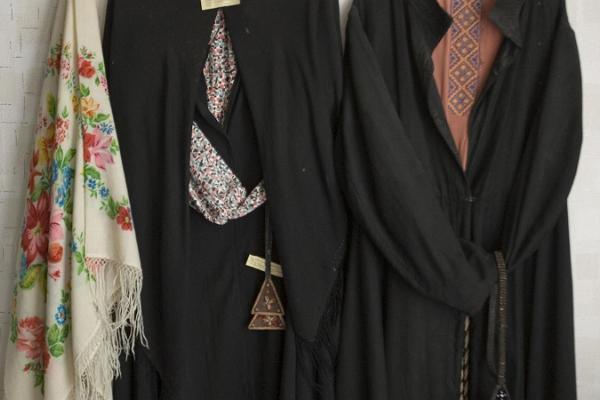 Vecticībnieku apģērbs Kolkjas Vecticībnieku muzejā