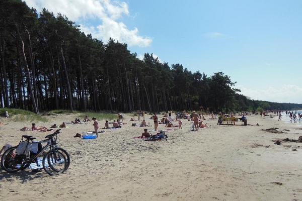 Der Strand von Pirita