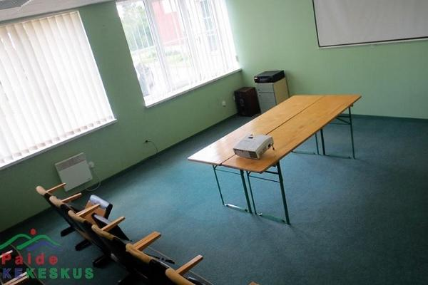 Paide Puhkekeskuse seminariruumid