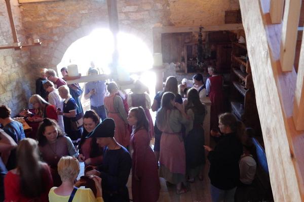 Erlebniszentrum des Mittelalters Archebald in Saaremaa