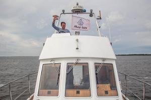 Vergnügungsfahrten auf dem Peipussee mit einem Vergnügungsschiff