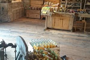 Хуторской магазин сырной фермы Andre