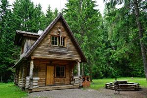 Paunkülan lomakeskuksen majoitus