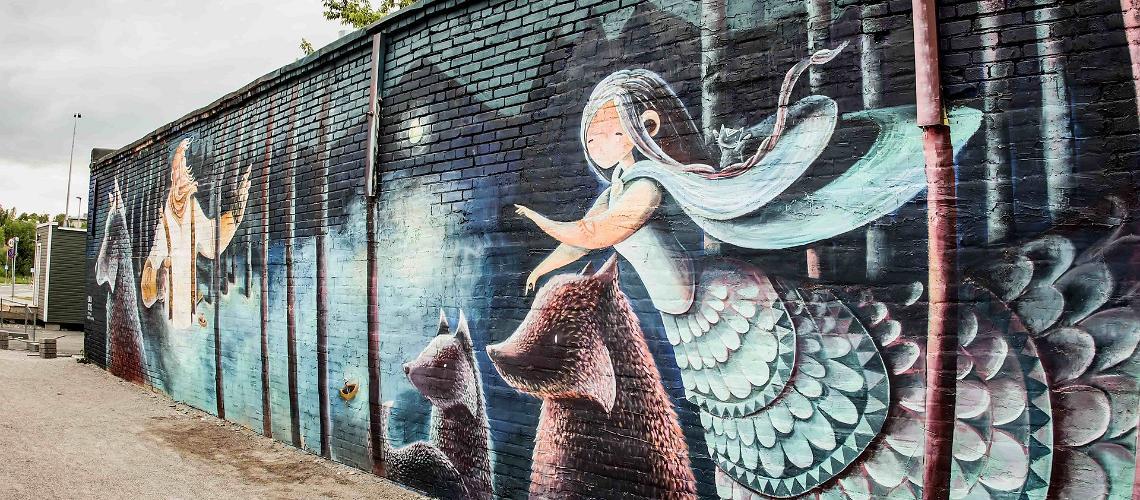 Graffiti i Estland – konstgallerier på gatorna