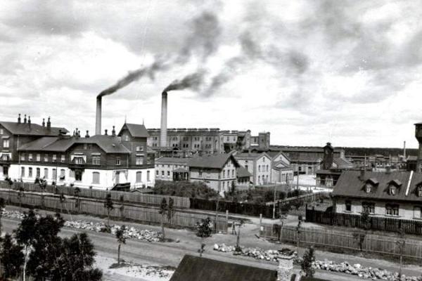 """Pastaiga gida pavadībā """"Industriālā Pērnava 19.-20. gadsimta mijā"""""""