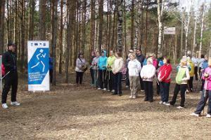 Hiking tracks in Kuressaare Health Park