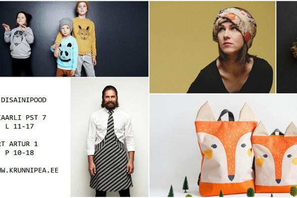 Estonian design shop Krunnipea