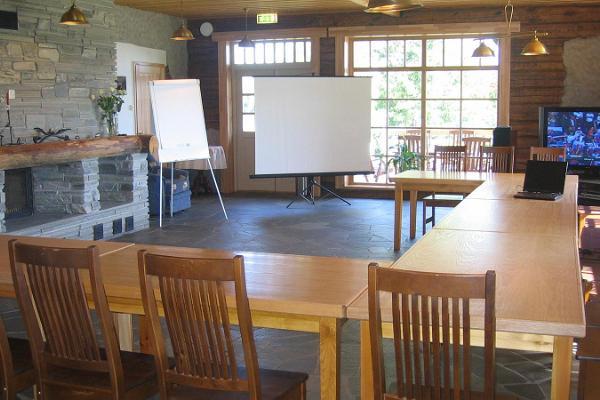 Kevvai viesu mājas konferenču telpa