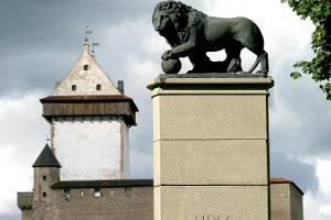 """Denkmal """"Schwedischer Löwe"""""""