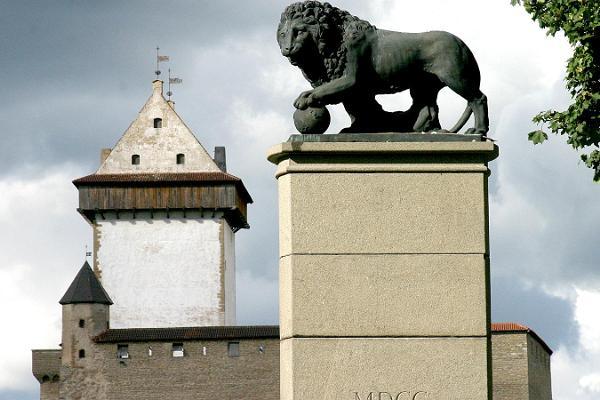 Monument 'Swedish Lion'