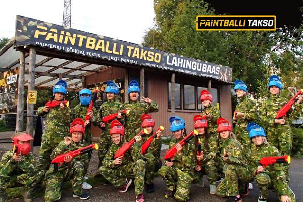 Paintballi lahingubaas Tallinnas