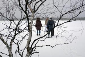 Kanuu.ee Wintersafari und Schneewandern im Hochmoor Kakerdaja