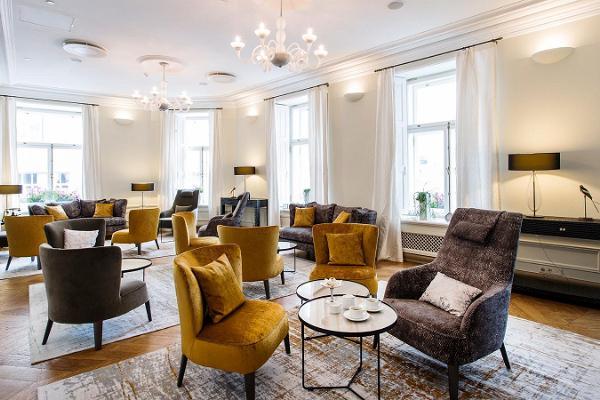Seminar room Symphony Lounge in Hotel Telegraaf