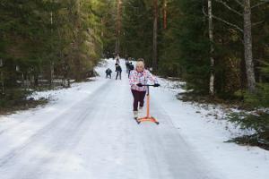 Tretschlittenausflug in Kõrvemaa