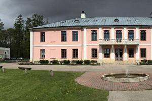 Rundgang mit Führer im Gutshaus Tõstamaa (dt. Testama)