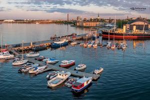 Yachthafen des Seeflughafens