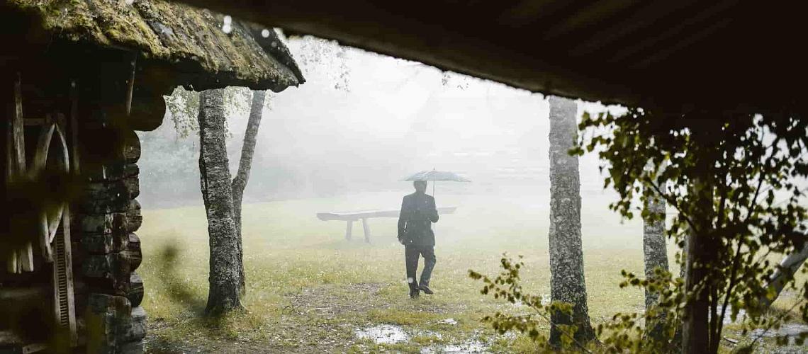 Rainy weather in Estonia