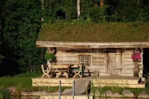 Чёрная баня Пярна центра отдыха Лаукатагузе